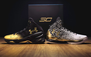 New Under Armour Steph Curry Back 2 Back MVP Pack Basketball Shoes Size 13