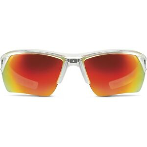 Under Armour Igniter2.0  Sunglass Shiny Crystal Clear Frame Orange Lens