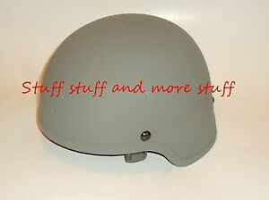 Original US Army MSA ACH MICH Combat Helmet With ACU Cover - Large - NEW