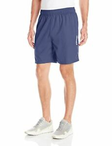 HEAD Men's Athletic Shorts Light Sweat-Wicking Woven Perforated Medieval BL S