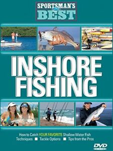 SPORTSMAN#x27;S BEST INSHORE FISHING Techniques Tackle Options Tips New DVD