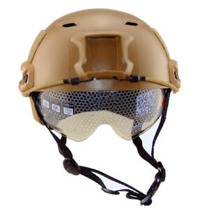 Tactical Helmet Fast Type Outdoor Sports Airsoft Paintball Protective Mask Gear
