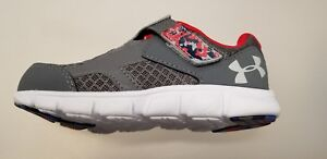 Under Armour Kids' Boys' Thrill Running-Shoes - Graphite Size 6K
