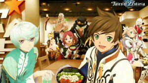 017 Tales of Zestiria the X Sleigh Fight Japan Anime 24quot;x14quot; Poster