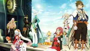 015 Tales of Zestiria the X Sleigh Fight Japan Anime 24quot;x14quot; Poster