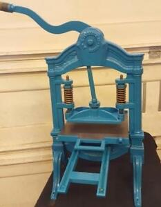 Rare AB Taylor Hat Press Circa 1850 Tabletop Letterpress  1 of 3 known to exist!