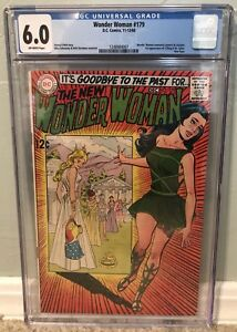 Wonder Woman 179 (1968 DC) CGC 6.0 1st App. I-Ching New Direction