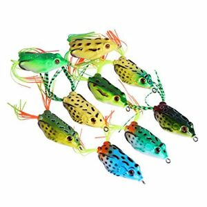 Goture Topwater Soft Fishing Lure Bass Saltwater