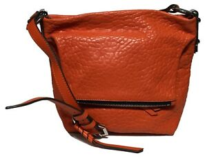 NWT orYANY Woman's Leather Cross Body Coral Color Adjustable Shoulder Strap