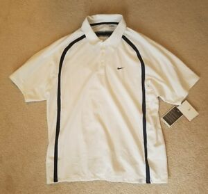 Mens Nike Dry Fit Collared Tennis Shirt NWT - Size L Large