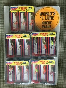 15 (5BOX) Mepps POCKET PAC WORLD'S #1 LURE TROUT  KIT WITH 1993 FISHING GUIDE