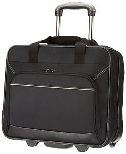 Rolling Laptop Case 17 Inch Computer Business Bag Wheeled Travel Carry On New