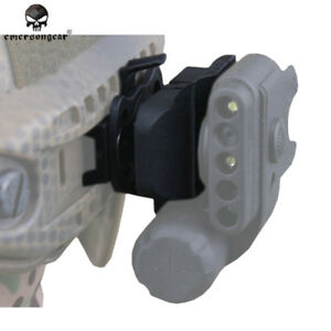 EMERSON Tactical Light Mount FAST Helmet Accessories Airsoft Hunting Army Gear