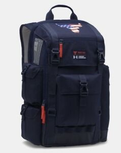 NEW - Under Armour UA x Project Rock Freedom Regiment Backpack Bag USA $135
