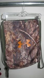 UNDER ARMOUR CAMO SACKPACK UNISEX BAG FOR BOOTS SHOES OR CLEATS