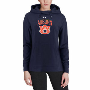 Under Armour Auburn Tigers Women's Navy Sport Style Tri-Blend Pullover Hoodie