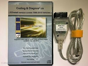 Mini VCI Diagnostic Tool Cable Scanner for Toyota Lexus TIS Techstream V13.00.22