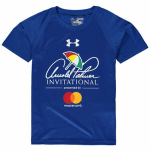 Under Armour Arnold Palmer Invitational Youth Royal Performance Tech T-Shirt