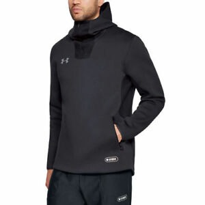 Under Armour Charcoal Combine Event Pullover Hoodie