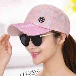 Baseball Caps Cotton Women Female Hats Adjustable Snapback Fitted Summers Casual