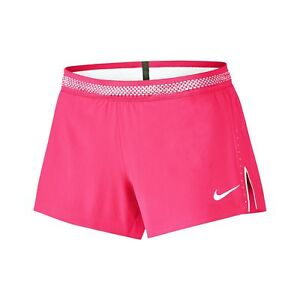 Womens Nike Aeroswift Running Gym Shorts PINK Size: XS. BNWT- RRP 49.99