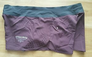 Women's Nike Undercover Lab Gyakusou running shorts purple size large