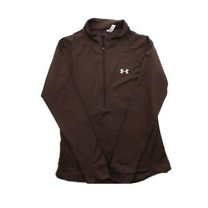 Under Armour Tech Fitted Womens Coldgear Infrared 1 2 Zip Jacket Pullover $22.99