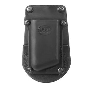 Fobus Single Mag Paddle Pouch, Single-Stack Polymer Black