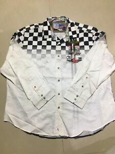 NWD Robert Graham RACING INDY 500 Sport Shirt Classic Fit Size 4XL