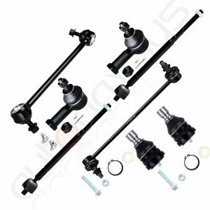8pc For 1999 2005 MITSUBISHI ECLIPSE Front Suspension Kit Tie Rods Ball Joints $48.19