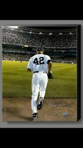Mariano Rivera New York Yankees Signed Enter Sandman Canvas by Anthony J. Causi. $269.97