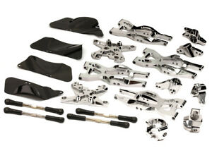 INTEGY RC T8695SILVER Machined Suspension Kit for HPI 110 Bullet MT