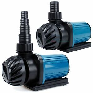 Aquarium 1200 3200GPH Pond Pump Fountain Submersible Inline Hydroponics