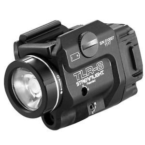 Streamlight Low Profile Rail Mounted Tactical Light With Red Laser