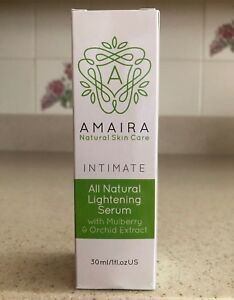 AMAIRA 1 oz Intimate Skin Lightening Serum for Hyperpigmentation - NEW with Box