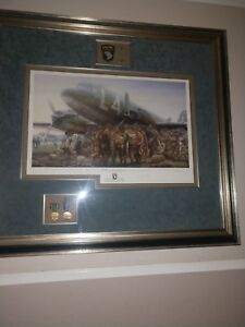 JOHN SHAW BAND OF BROTHERS MAIN EDITION PRINT 13 VETERANS SIGNATURES EASY CO