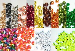100 Tungsten Fly Tying Beads Pick Size amp; Color