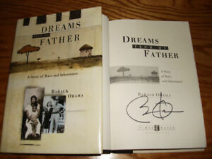 Barack Obama 1995 Dreams From My Father Book Signed First Edition