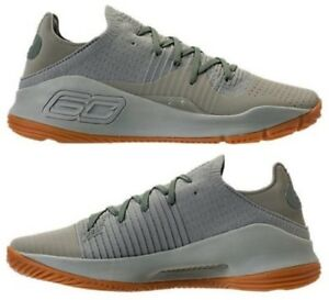 UNDER ARMOUR CURRY 4 LOW MEN's BASKETBALL GREEN- GUM AUTHENTIC BRAND NEW IN BOX