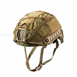 OneTigris Tactical Camo Airsoft Helmet Cover for Ops-Core FAST PJ Size M Helmet