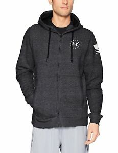 Under Armour Men's Freedom Threadborne Fleece Full Zip Hoodie - Choose SZColor