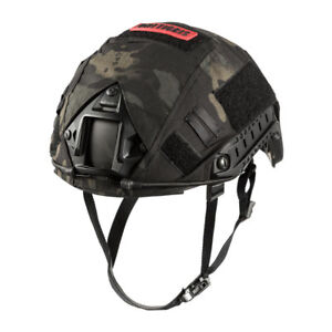 OneTigris PJ Type Tactical Fast Helmet for Airsoft Paintball & Helmet Cover MC