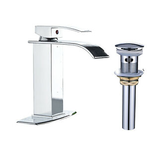 Tall Spout Single Hole Lever Bathroom Basin Vessel Sink Faucet Oil Rubbed Bronze
