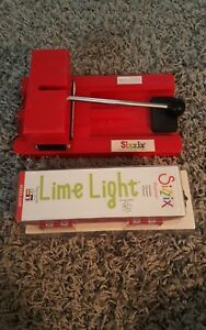 Sizzix Sizzlits Alphabet NIB Lime Light plus Sizzix System  CONVERTER LOT