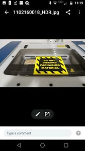 EpilogueZing 16 40W laser cutter engraver used includes air compressor blower $7250.00