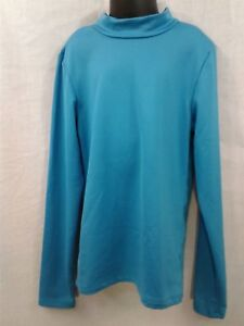 Champion DRI-FIT Athletic Shirt Kids Youth Size Large quick dry Long sleeve Blue