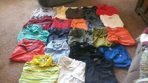 Mens Nike DriFit polo shirtAdidas FJ (L) 22 Total !!