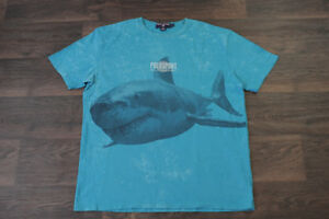 Vintage Polo Sport Ralph Lauren Shark T Shirt Mens Large Tee 90s