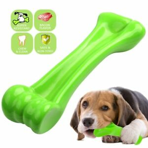 Durable Dog Chew Toys—Eetoys Bone toy for Aggressive Chewers— Indestructible