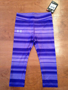Girls 2T Under Armour Lot of 2 Pairs of Leggings Little Kids Childrens New